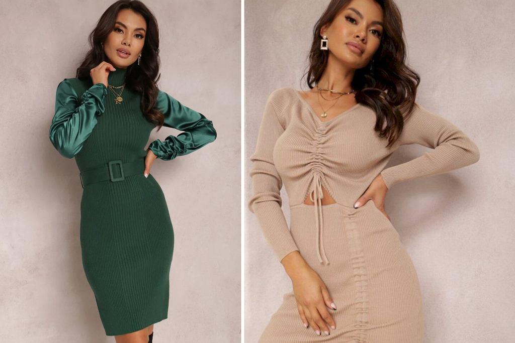 Ciepłe sukienki na jesień