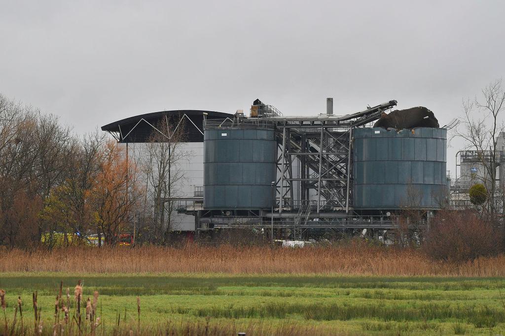 Wybuch na terenie oczyszczalni ścieków w Bristolu