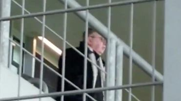 Wulgarne okrzyki działaczy Cracovii w kierunku sędziego