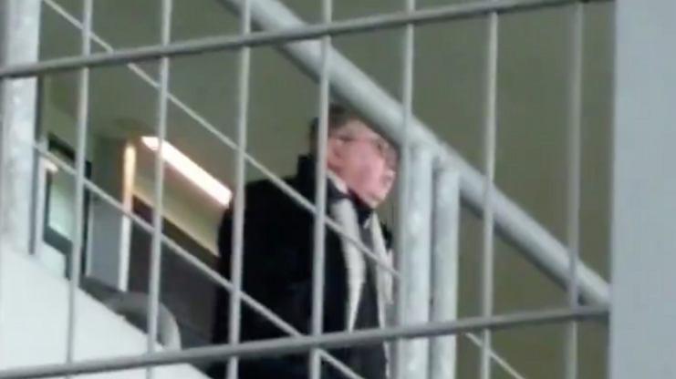 Jest nagranie skandalicznego zachowania prof. Filipiaka podczas derbów Krakowa [WIDEO]