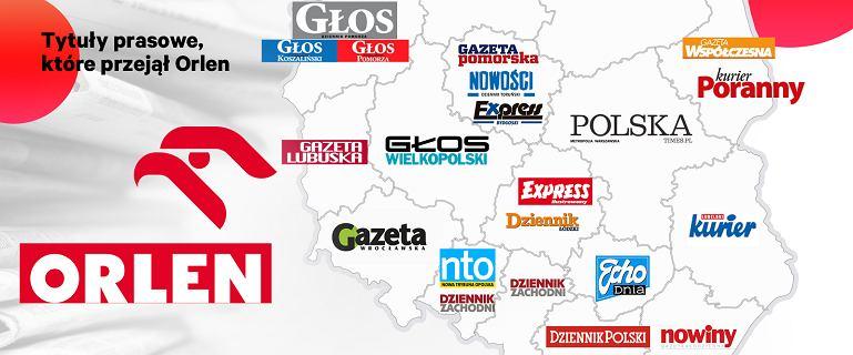 Orlen przejął Polska Press. 20 dzienników w państwowej grupie, szefowa odchodzi
