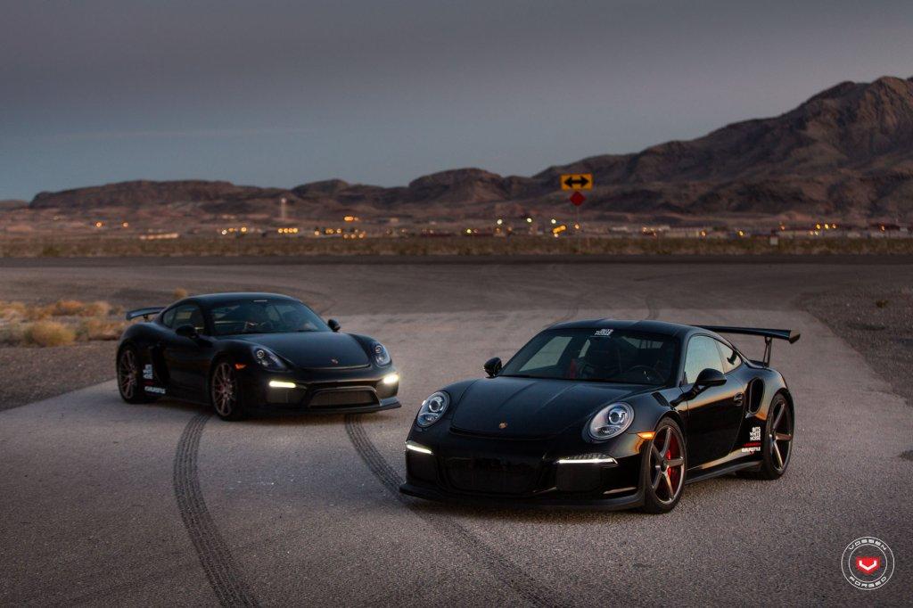 Porsche 911 GT3 RS i Cayman GT4 (Vossen Wheels)