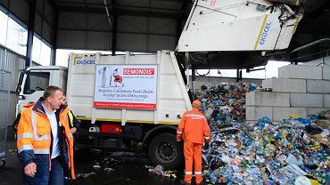 Sortownia śmieci przy ul. Smoleńskiej w Szczecinie.