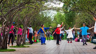 Taniec kwadratowy cieszy się ogromną popularnością