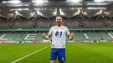 Wymowne koszulki piłkarzy Lecha po meczu z Legią. Tak 'Kolejorz' świętował zwycięstwo