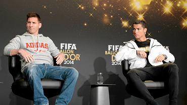 Leo Messi i Cristiano Ronaldo, dwóch najlepszych obecnie piłkarzy świata?