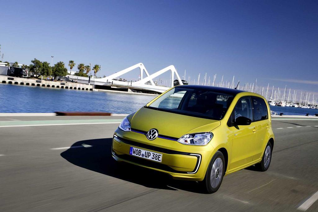 Volkswagen e-up! samochód elektryczny