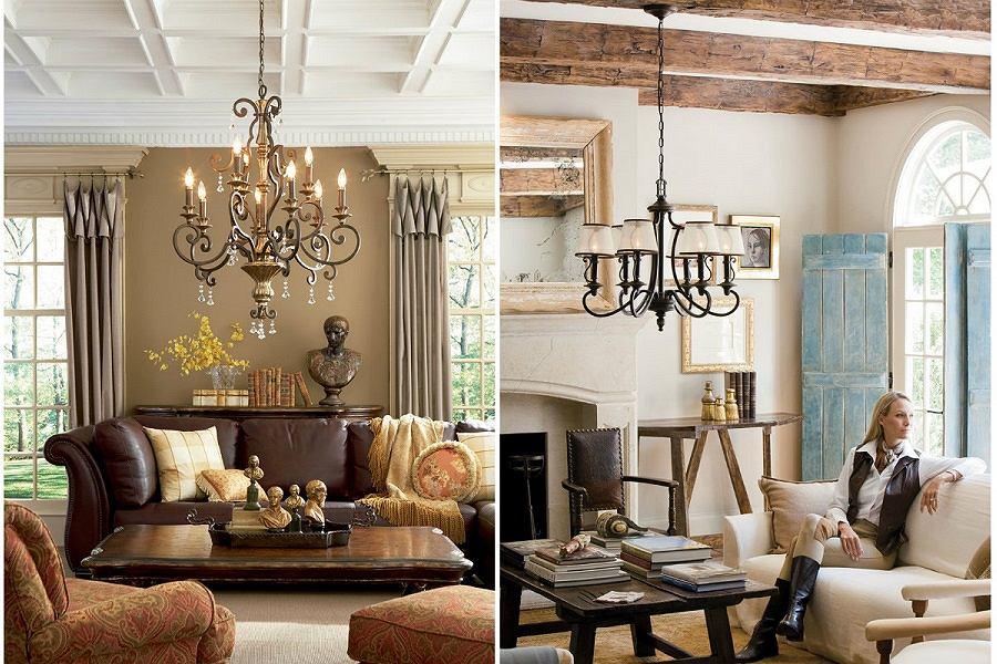 Klasyczne lampy do mieszkania brytyjskiej marki.