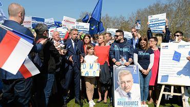 Eurowybory 2019.  Regionalna  inauguracja kampanii Koalicji Europejskiej