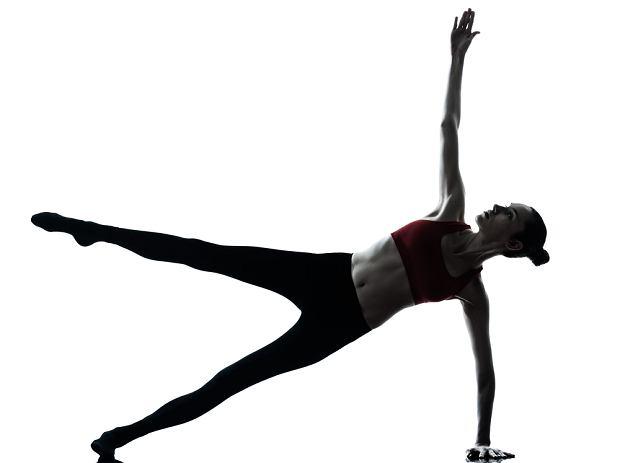ćwiczenia na brzuch - deska