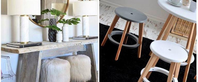Taborety i stołki - idealne do salonu, sypialni czy kuchni - przegląd modeli