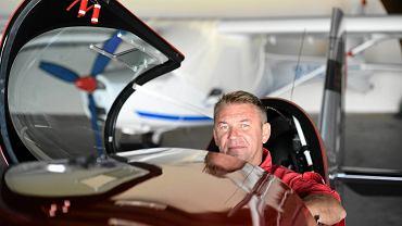 Radomianin Robert Kowalik, reprezentant Polski na XII Mistrzostwa Świata w Akrobacji Samolotowej