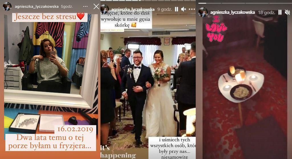 InstaStory Agnieszki ze 'Ślubu od pierwszego wejrzenia'
