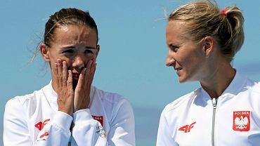 Magdalena Fularczyk-Kozłowska i Natalia Madaj