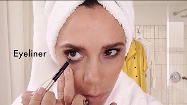 Victoria Bechkam uczy, jak używać jej linii do makijażu Victoria Beckham dla Estée Lauder
