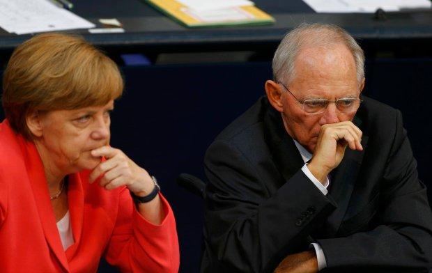 Angela Merkel i Wolfgang Schäuble