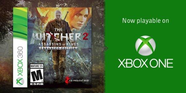 Wiedźmin 2 dostępny na Xbox One w ramach kompatybilności wstecznej