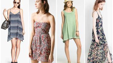 10 sukienek na plażę do 50 zł