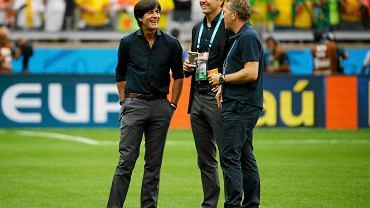 Joachim Loew, Oliver Bierhoff i Hansi Flick
