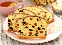 Szybki keks biszkoptowy - ugotuj