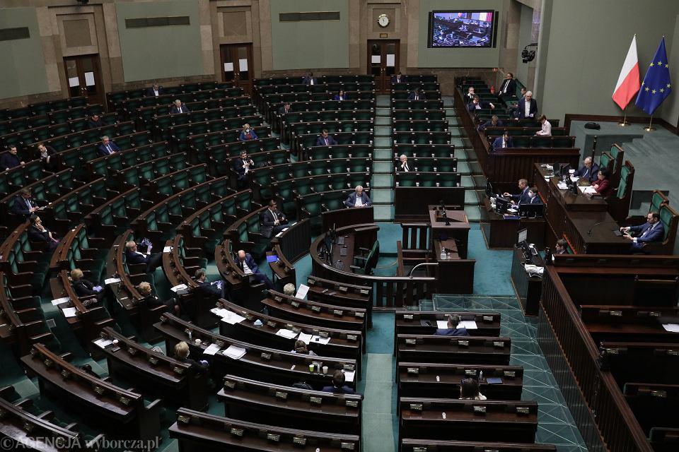 27.03.2020, posiedzenie Sejmu.