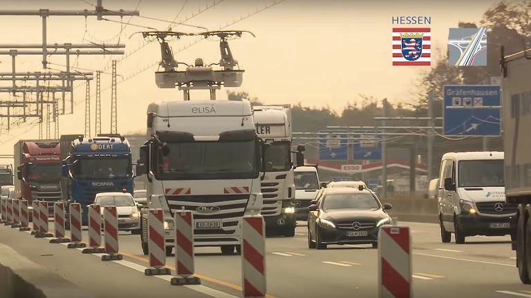 eHighway - elektryczna autostrada dla ciężarówek