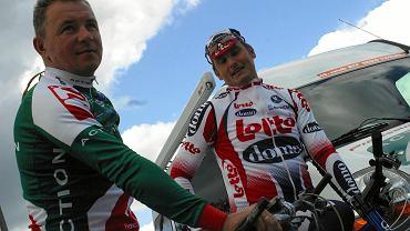 Piotr Kosmala i Piotr Wadecki w 2004 roku