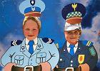 Policjant to też człowiek, ale tylko we Włoszech. Wyraz twarzy naszych mundurowych skutecznie odstrasza [FELIETON]