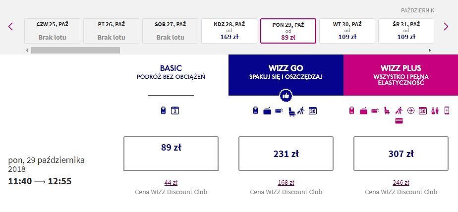 Od października będzie można polecieć z Warszawy do Wiednia już od 89 zł, a dla klubowiczów nawet od 44 zł