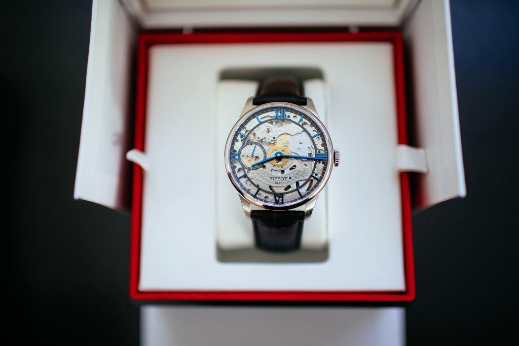 Zegarek Tissot Chemin des Tourelles Squelette - główna nagroda w Wielkiej Maturze z wiedzy o zegarkach
