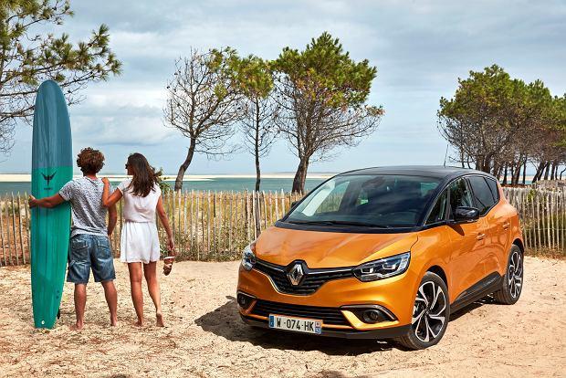 Galeria   Renault Scenic i Grand Scenic   Stylowy minivan