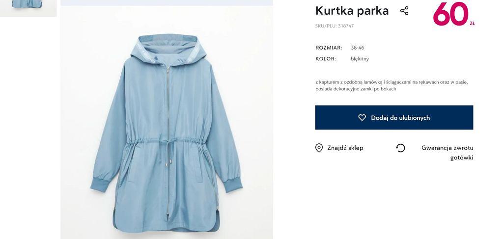 Pepco sprzedaje modne kurtki za niecałe 60 zł. Podobne modele kupicie w sieciówkach za dużo więcej