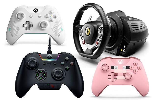 Kontrolery o konsoli Xbox One