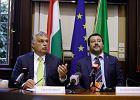 Wicepremier Włoch projektuje nową Europę. Z Orbanem. Za plecami swojego szefa