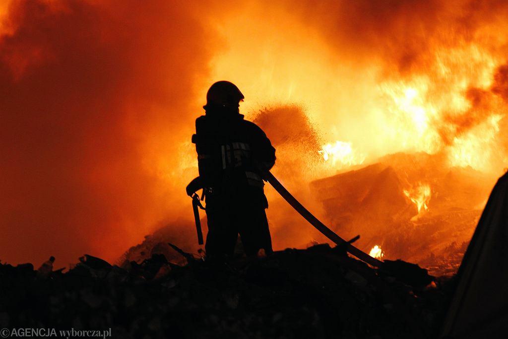 pożar (zdjęcie ilustracyjne)