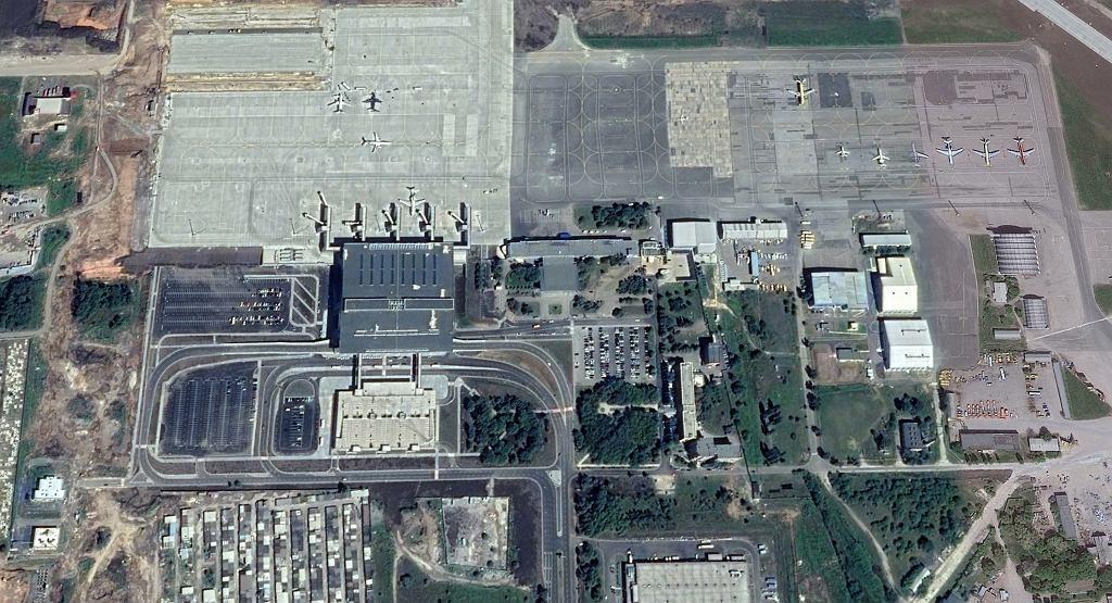 Nowe lotnisko w Doniecku tuż po Euro 2012. Rok 2012