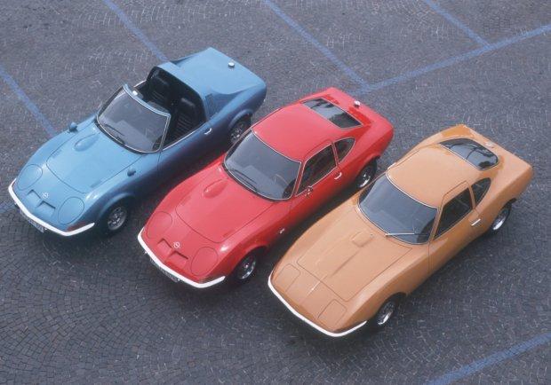 Opel Aero GT, Opel GT i Opel Experimental GT
