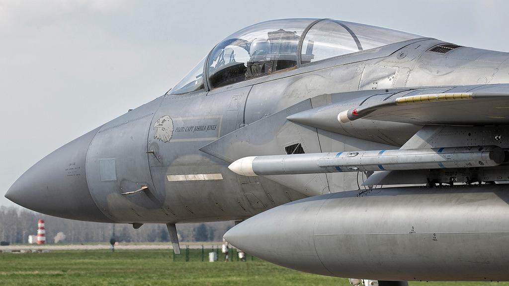 Amerykański myśliwiec F-15C