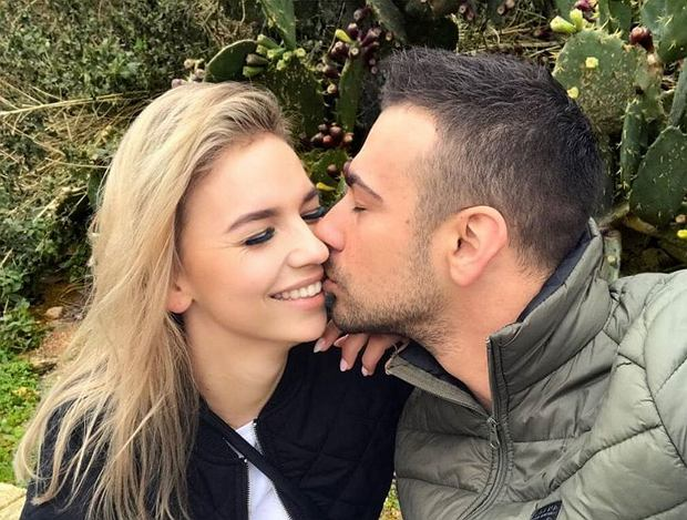 """""""Ślub od pierwszego wejrzenia"""". Oliwia i Łukasz powoli wyrastają na ulubieńców widzów programu. Młodzi rodzice są bardzo aktywni na Instagramie."""