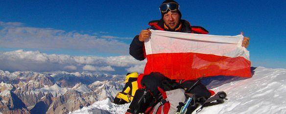 Paweł Michalski zdobył Broad Peak