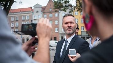 Jarosław Wałęsa, kandydat na prezydenta Gdańska