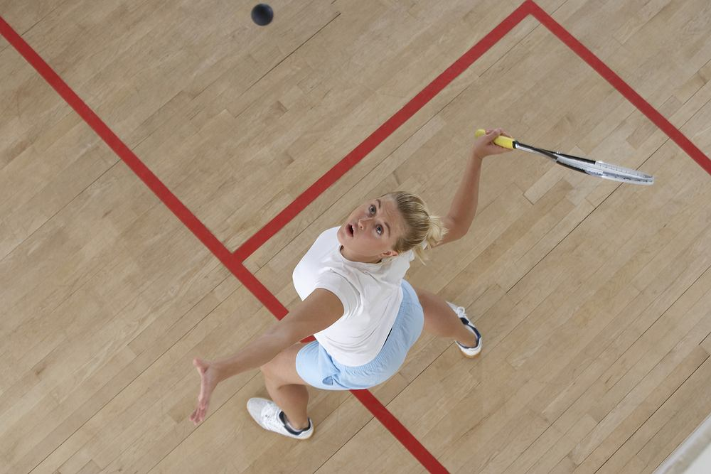 Squash jest idealną formą aktywnego odpoczynku i odreagowania stresu wynikającego np. z życia zawodowego.
