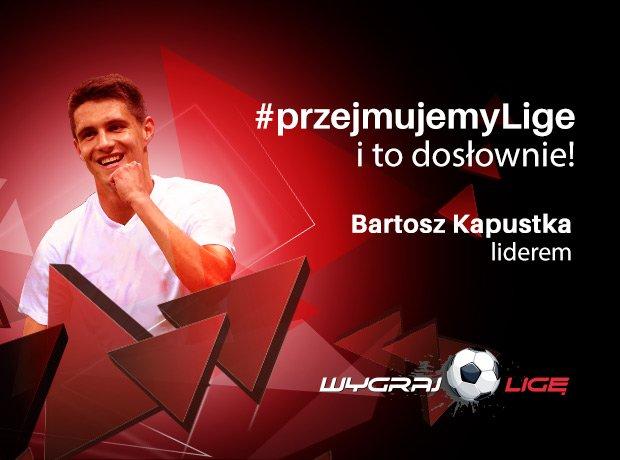 Bartosz Kapustka liderem Wygraj Ligę po 26. kolejce Ekstraklasy