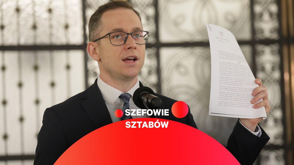 Cezary Tomczyk, szef sztabu wyborczego Rafała Trzaskowskiego
