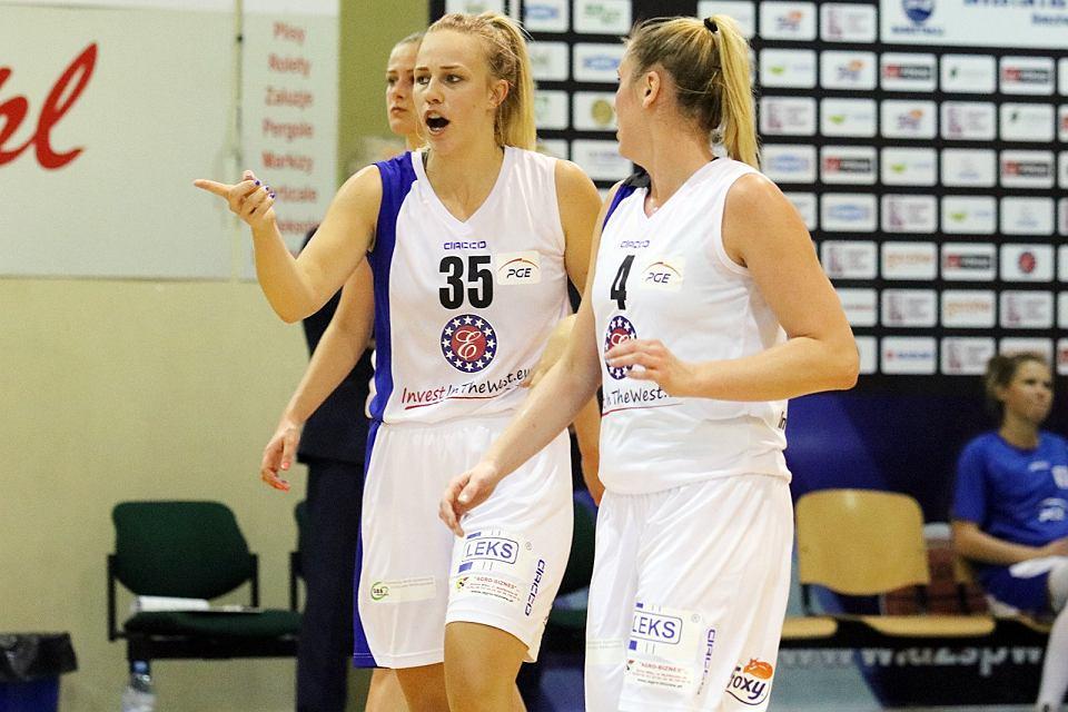 Basket Liga Kobiet: InvestInTheWest AZS AJP Gorzów - Basket 90 Gdynia 71:61 (10:19, 14:10, 25:16, 22:16). Nicole Seekamp i Katarzyna Dźwigalska
