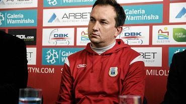 Trener Adam Łopatko