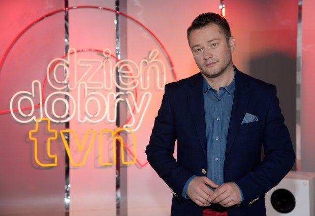Press Junket - Jaroslaw Kuzniar w DD TVN, 07.09.2015, fot. WBF/Marek Kudelski na zdj. Jaroslaw Kuzniar