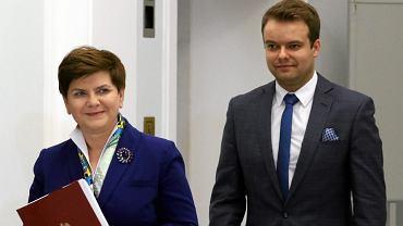 Beata Szydło, Rafał Bochenek