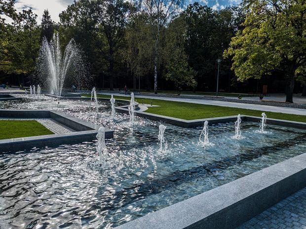 Zdjęcie numer 0 w galerii - Nowa fontanna wystrzeliła w górę. Zobaczcie, jak park Zielona zmienił się za prawie 28 mln zł
