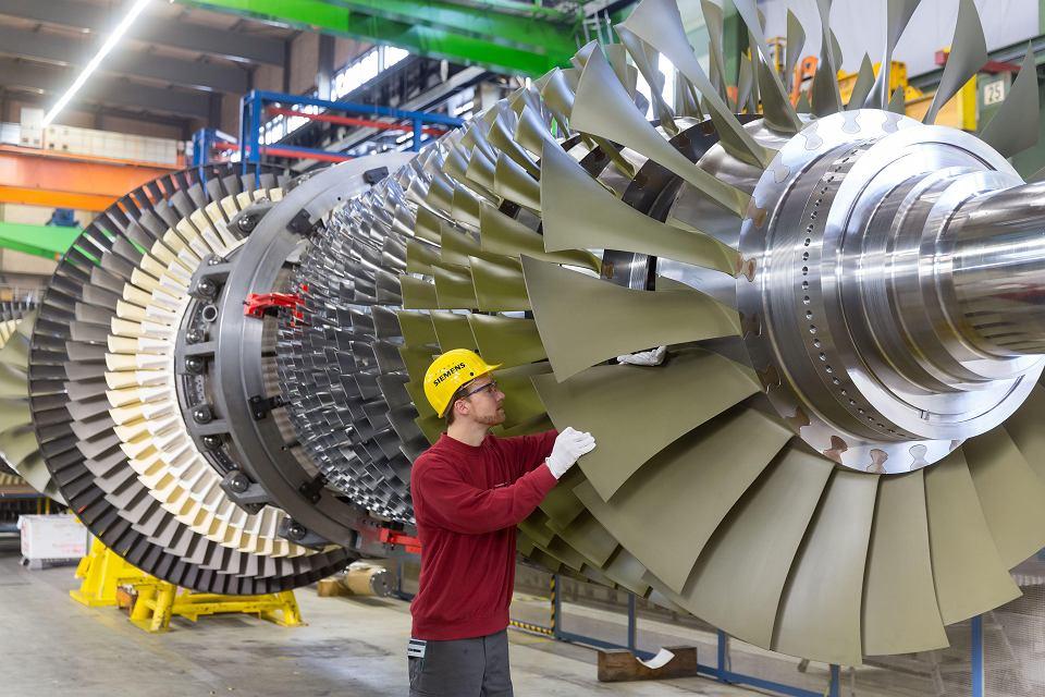 Turbina gazowa Siemensa